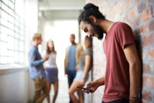 Excessive mobile phone use and neck pain